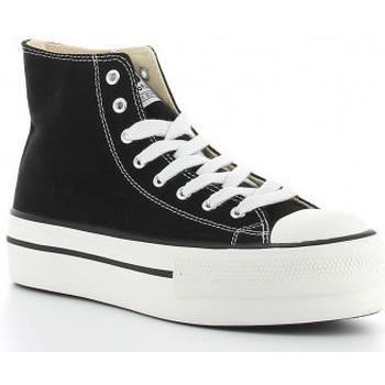 Chaussures Femme Baskets montantes Victoria 1061101 negro Noir