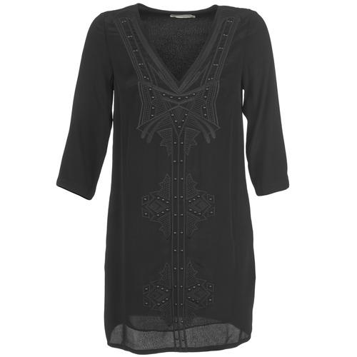 Vêtements Femme Robes courtes See U Soon CASOU Noir