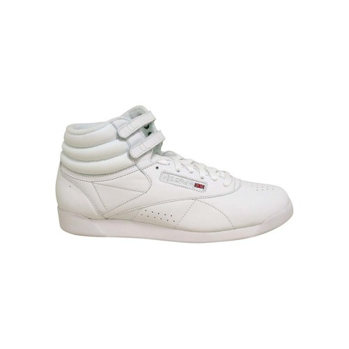 Chaussures Femme Baskets montantes Reebok Classic FREESTYLE HI Blanc