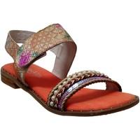 Chaussures Femme Sandales et Nu-pieds Laura Vita Flcorenceo 01 Orange