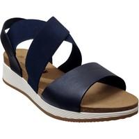 Chaussures Femme Sandales et Nu-pieds Plakton Speed tor Marine cuir