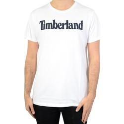 Vêtements Homme T-shirts manches courtes Timberland Tee-Shirt SS Brand Reg White
