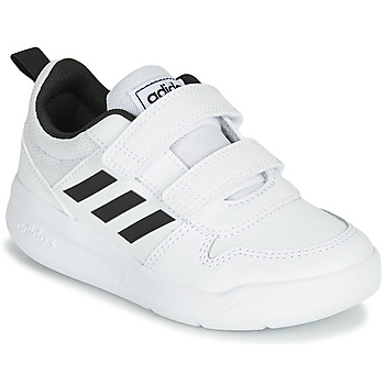 Chaussures Enfant Baskets basses adidas Performance VECTOR C Blanc / Noir