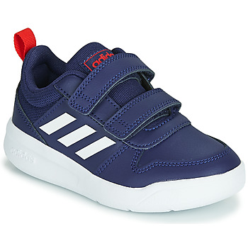 Chaussures Enfant Baskets basses adidas Performance VECTOR C Bleu / blanc