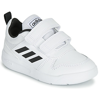 2c14e8a8896c Chaussures Enfant Baskets basses adidas Performance VECTOR I Blanc / Noir