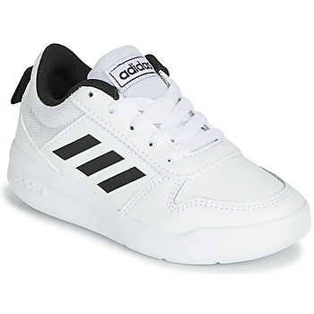 Chaussures Enfant Baskets basses adidas Performance VECTOR K Blanc / Noir