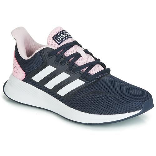 adidas chaussures femme rose et noir