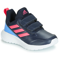 Chaussures Fille Baskets basses adidas Performance ALTARUN CF K Marine / Rose