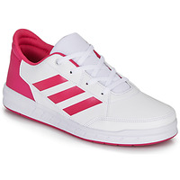 Chaussures Fille Baskets basses adidas Performance ALTASPORT K Blanc / rose