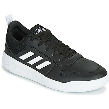 Chaussures Enfant Baskets basses adidas Performance VECTOR K Noir / Blanc