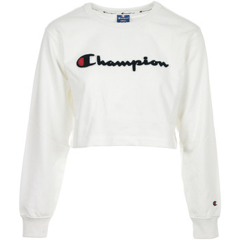 Vêtements Femme Sweats Champion Crewneck Croptop Wn's blanc