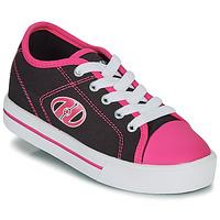 Chaussures Fille Chaussures à roulettes Heelys CLASSIC X2 Noir / Rose