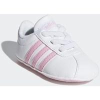 Chaussures Fille Baskets basses adidas Originals VL Court 20 Crib Blanc