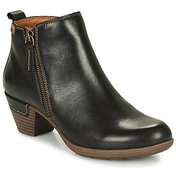 Chaussures Femme Bottines Pikolinos ROTTERDAM 902 Noir