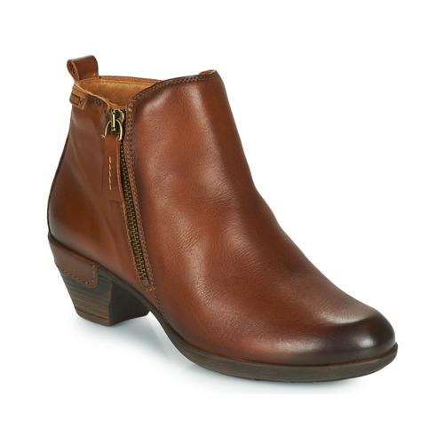Chaussures Femme Bottines Pikolinos ROTTERDAM 902 Cognac