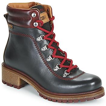 Chaussures Femme Boots Pikolinos ASPE W9Z Noir