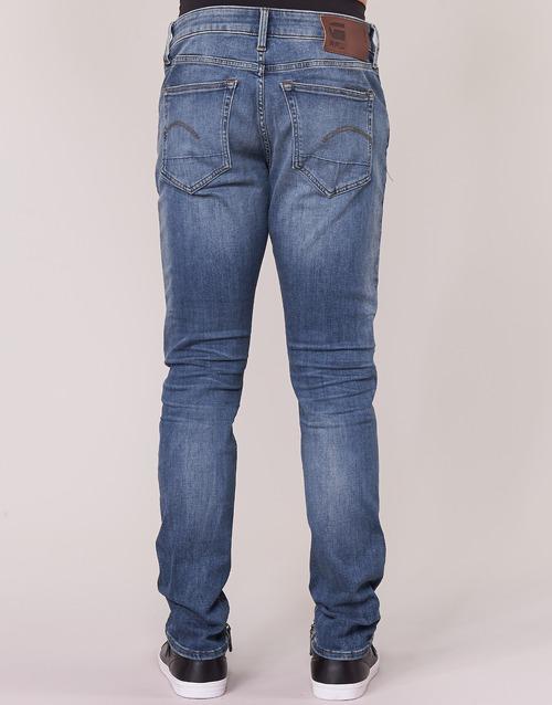 Slim G Vintage star Homme Jeans 3301 Aged Raw Bleu Medium QBrdCxoeW