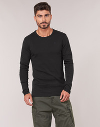 Vêtements Homme T-shirts manches longues G-Star Raw BASE TEE Noir