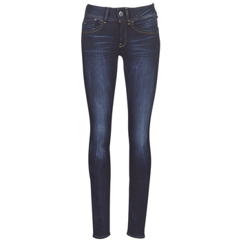 Vêtements Femme Jeans skinny G-Star Raw LYNN MID SKINNY WMN Bleu Faded Blue