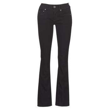 Vêtements Femme Jeans bootcut G-Star Raw MIDGE MID BOOTCUT WMN Noir