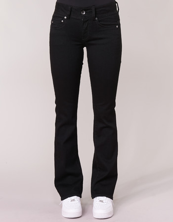 Raw Femme Wmn Vêtements Noir Midge Bootcut star G Mid Jeans ym80OwPvNn