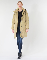 Vêtements Femme Parkas G-Star Raw NEW DUTY PDD HDD PARKA WMN Beige
