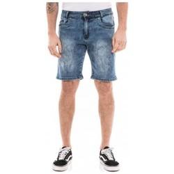 Vêtements Homme Shorts / Bermudas Ritchie Bermuda en jean slim BAKERFIELD Bleu clair