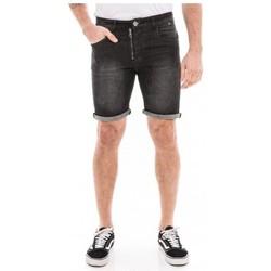 Vêtements Homme Shorts / Bermudas Ritchie Bermuda en jean droit BILLING Noir