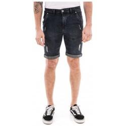 Vêtements Homme Shorts / Bermudas Ritchie Bermuda en jean coupe slim BLAINE Bleu foncé