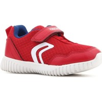 Chaussures Enfant Baskets basses Geox B Waviness B.B B822BB 014BU C7213 czerwony