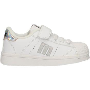 Chaussures Enfant Baskets basses MTNG 47600 Blanco