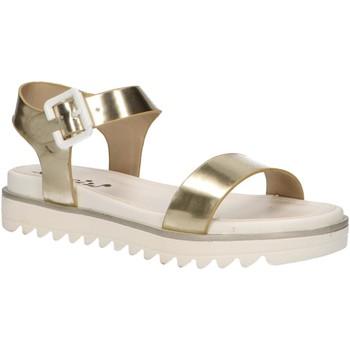 Chaussures Fille Sandales et Nu-pieds Cheiw 47088 Gold