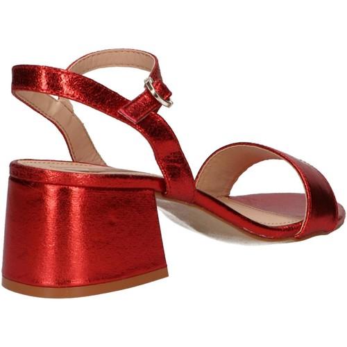 58415 C42043 Krakel Rojo Mtng Sandales Et Nu-pieds Femme k23dOnNh
