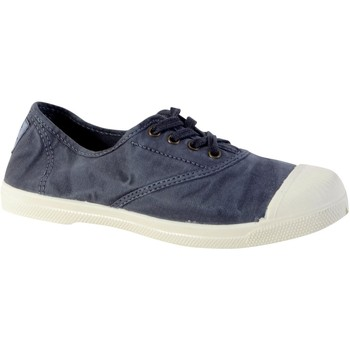 Chaussures Femme Baskets basses Natural World Tennis Lacet INGLES ELASTICO ENZIMATICO 102E Bleu Marine