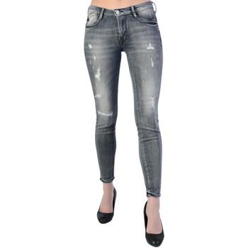 Vêtements Femme Jeans slim Le Temps des Cerises s JF Powerc Grey