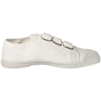1e86ac71ab447c Chaussures Fille Baskets basses Bensimon Tennis Enfant Tennis Scratch Blanc