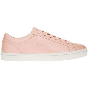 Chaussures Femme Baskets basses Lacoste Straightset 119 1 Rose