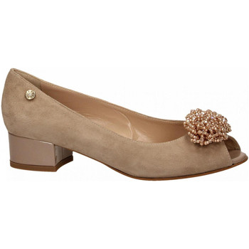 Chaussures Femme Ballerines / babies Enval D SF 32970 taupe