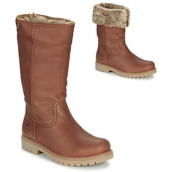 Chaussures Femme Bottes ville Panama Jack BAMBINA Marron