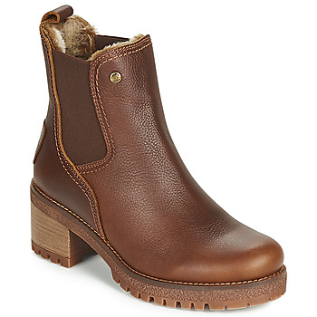 Chaussures Femme Bottines Panama Jack PIA Marron