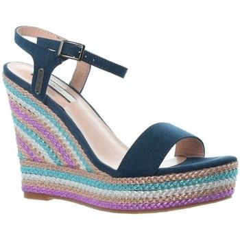 Chaussures Femme Espadrilles Pepe jeans Sandales à talons compensés  ref_pepe461 multicolore