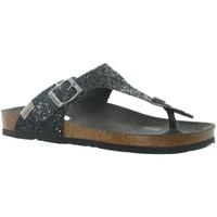 Chaussures Femme Sandales et Nu-pieds Pepe jeans Tongs  ref_pep46177 999 Noir Noir