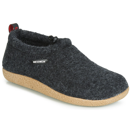 Chaussures Femme Chaussons Giesswein VENT Anthracite