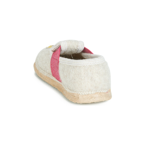 Chaussures Chaussons Fille Giesswein Thurnau Beige nwPkXO80