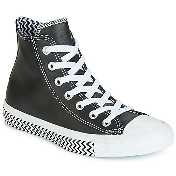 Chaussures Femme Baskets montantes Converse CHUCK TAYLOR ALL STAR VLTG LEATHER HI Noir