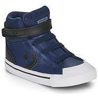 Chaussures Enfant Baskets montantes Converse PRO BLAZE STRAP MARTIAN LEATHER HI Bleu / Noir