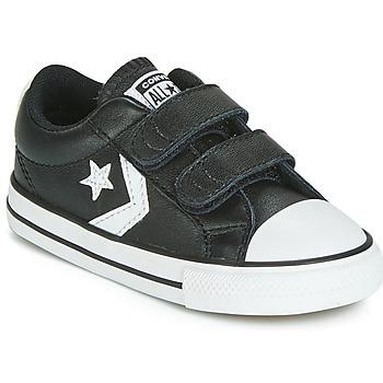 Chaussures Enfant Baskets basses Converse STAR PLAYER EV 2V  LEATHER OX Noir