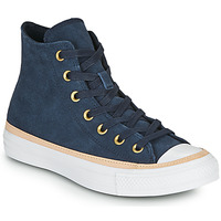 Chaussures Femme Baskets montantes Converse CHUCK TAYLOR ALL STAR VACHETTA LEATHER HI Marine