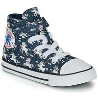 Chaussures Fille Baskets montantes Converse CHUCK TAYLOR ALL STAR 1V UNICONS HI Bleu