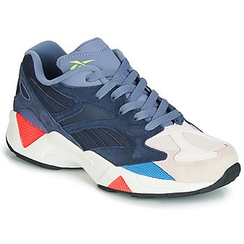 Chaussures Baskets basses Reebok Classic AZTREK 96 Gris / bleu